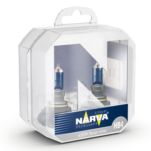 NARVA 48626 TWIN SET HB4 12V 51W RangePower White