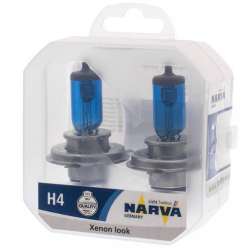 NARVA 48680 TWIN SET H4 12V 60/55W RANGE POWER WHITE