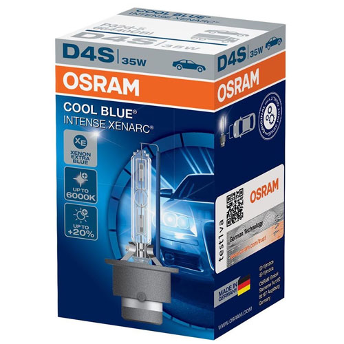 OSRAM 66440CBI CoolBlue Intense D4S 85V 35W P32d-5 Xenarc