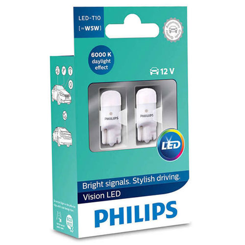 PHILIPS 12791B2 T10 LED 6000K 12V B2